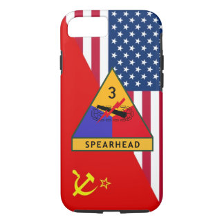 "3rd Armored Division ""Cold War"" Paint Scheme iPhone 8/7 Case"