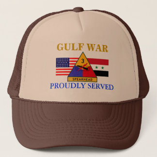 3RD ARMORED DIVISION GULF WAR HAT