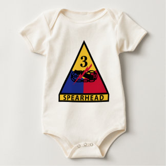3rd Armored Division - SPEARHEAD Baby Bodysuit