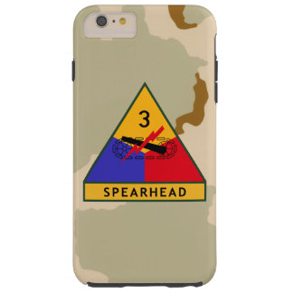 "3rd Armored Division ""Spearhead"" Desert Camo Tough iPhone 6 Plus Case"