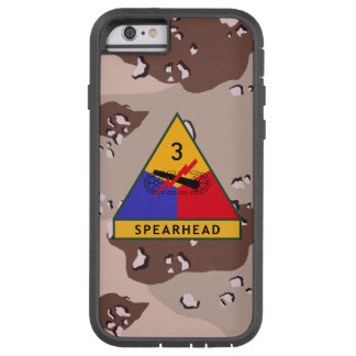 "3rd Armored Division ""Spearhead"" Desert Camo Tough Xtreme iPhone 6 Case"