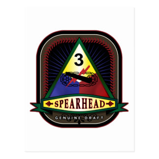 3rd Armored Division - Spearhead Postcard