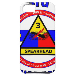 """3RD ARMORED DIVISION """"SPEARHEAD-THIRD HERD"""" iPhone SE/5/5s CASE"""