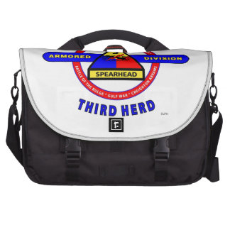 "3RD ARMORED DIVISION ""SPEARHEAD-THIRD HERD"" LAPTOP BAG"