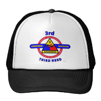 "3RD ARMORED DIVISION ""SPEARHEAD-THIRD HERD"" TRUCKER HAT"