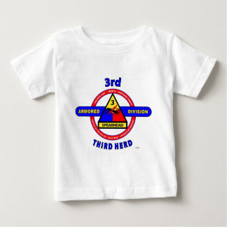 """3RD ARMORED DIVISION """"SPEARHEAD-THIRD HERD"""" TEE SHIRTS"""