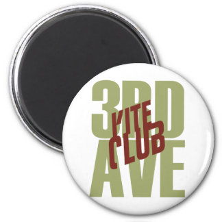 3rd Ave Kite Club Front Magnet