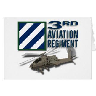 3rd Aviation Regiment Apache Card