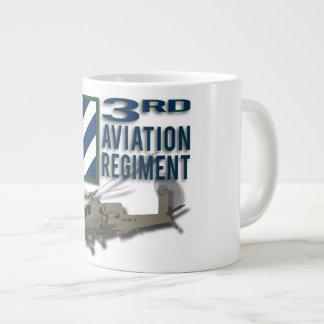 3rd Aviation Regiment Apache Large Coffee Mug