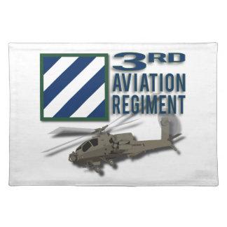 3rd Aviation Regiment Apache Placemat