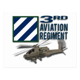 3rd Aviation Regiment Apache Postcard