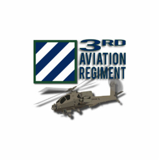 3rd Aviation Regiment Apache Statuette