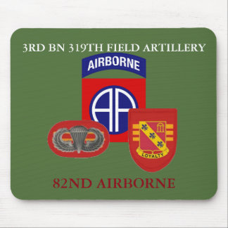 3RD BATTALION 319TH FIELD ARTILLERY MOUSEPAD