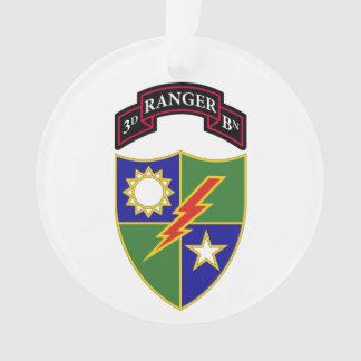 3rd Battalion - 75th Ranger Regiment Ornament