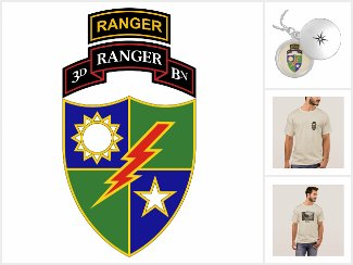 3rd Battalion - 75th Ranger Regiment w/ Ranger Tab