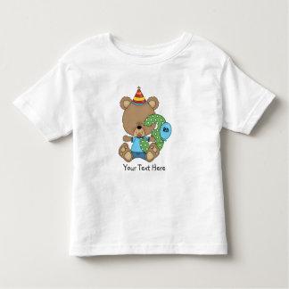 3rd Birthday Bear Boy (customizable) Toddler T-shirt
