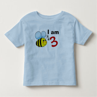 3rd birthday bumble bee gift idea toddler t-shirt