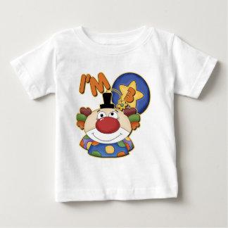 3rd Birthday Clown Birthday Baby T-Shirt