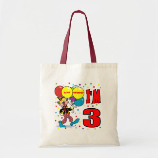 3rd Birthday Clown Birthday Bags