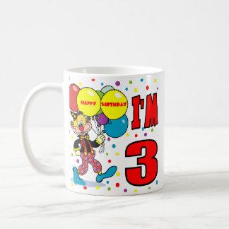 3rd Birthday Clown Birthday Coffee Mug