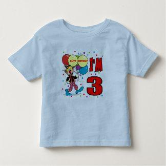 3rd Birthday Clown Birthday T Shirt