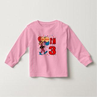 3rd Birthday Clown Birthday Toddler T-shirt
