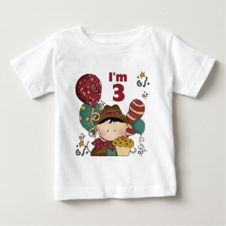 3rd Birthday Cowboy T-shirts and Gifts