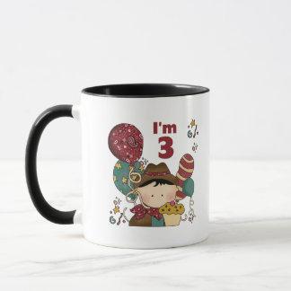 3rd Birthday Cowboy T-shirts and Gifts Mug