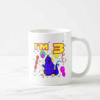 3rd Birthday Dinosaur Birthday Coffee Mug