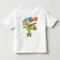 3rd Birthday Dinosaur Toddler T-shirt
