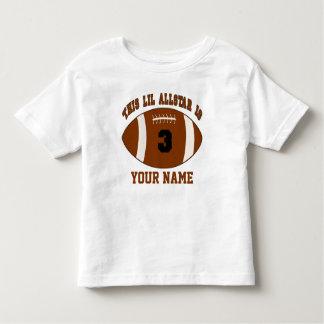 3rd Birthday Football Boys Personalized Shirt