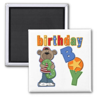 3rd Birthday Gift 2 Inch Square Magnet