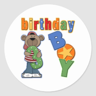 3rd Birthday Gift Classic Round Sticker