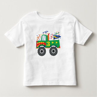 3rd Birthday Gift Ideas Toddler T-shirt