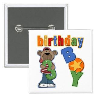 3rd Birthday Gift Pinback Button