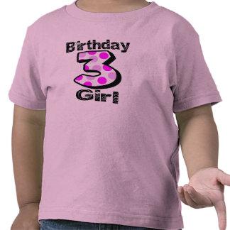 3rd Birthday Girl Shirt