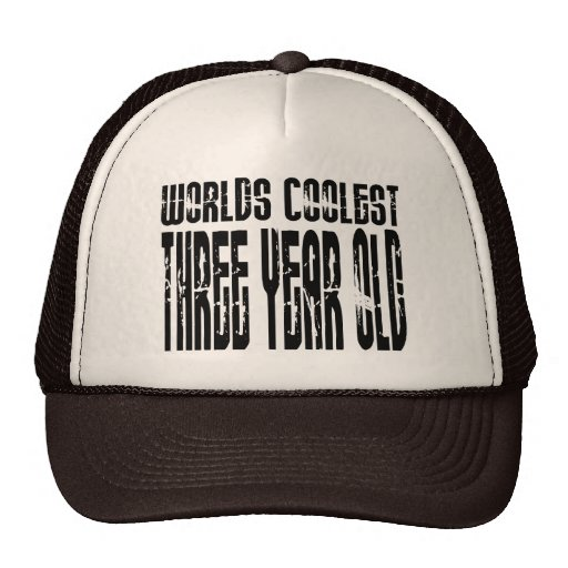 3rd Birthday Parties Worlds Coolest Three Year Old Hats