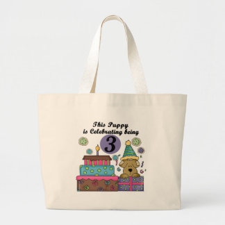 3rd Birthday Puppy T-shirts and Gifts Bags