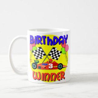 3rd Birthday Race Car Birthday Coffee Mug