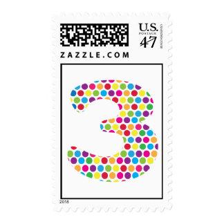 3rd Birthday Stamp