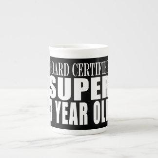 3rd Birthdays Board Certified Super Three Year Old Porcelain Mugs