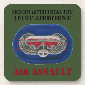 3RD BN 187TH INFANTRY 101ST AIRBORNE COASTERS