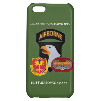 3RD BN 320TH FIELD ARTILLERY 101ST ABN iPHONE CASE