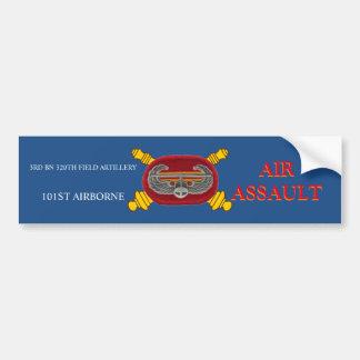 3RD BN 320TH FIELD ARTILLERY 101ST BUMPER STICKER