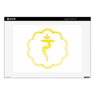 """3rd Chakra - Decal For 15"""" Laptop"""