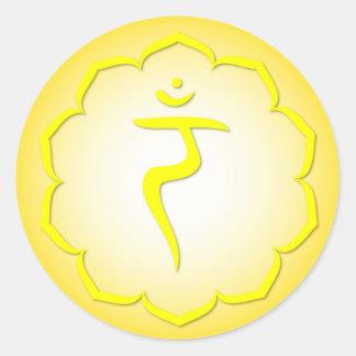 3rd Chakra - Manipura Classic Round Sticker