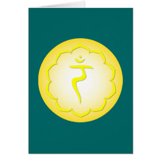 3rd Chakra - Manipura Greeting Card