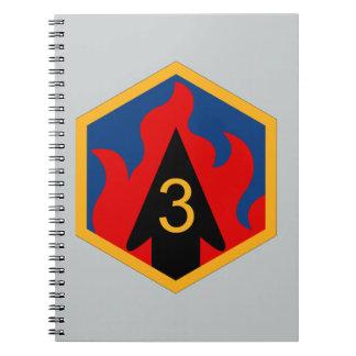 3rd Chemical Brigade Notebook