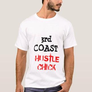 3rd COAST HUSTLE-CHICK TEE SHIRT