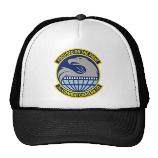 3rd Combat Camera Squadron - Focused On The Fight Trucker Hat